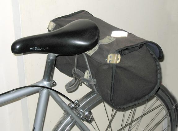 saddlebag - definition