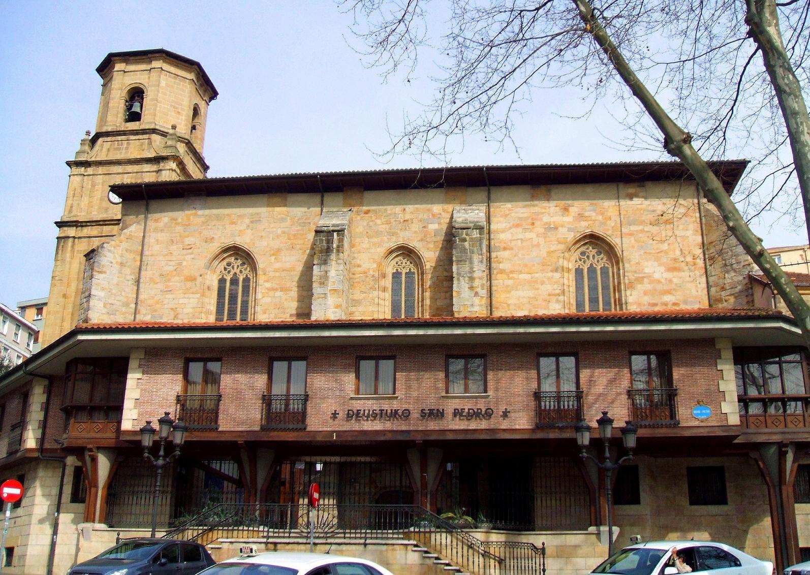 Archivo:Bilbao - San Pedro de Deusto 01.JPG - Wikipedia, la ...