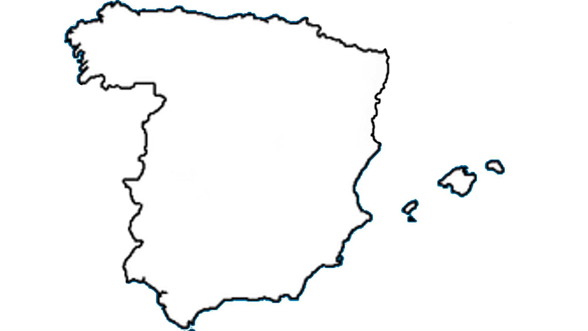 File Blank Map Of Spain Without Catalonia Png Wikimedia Commons