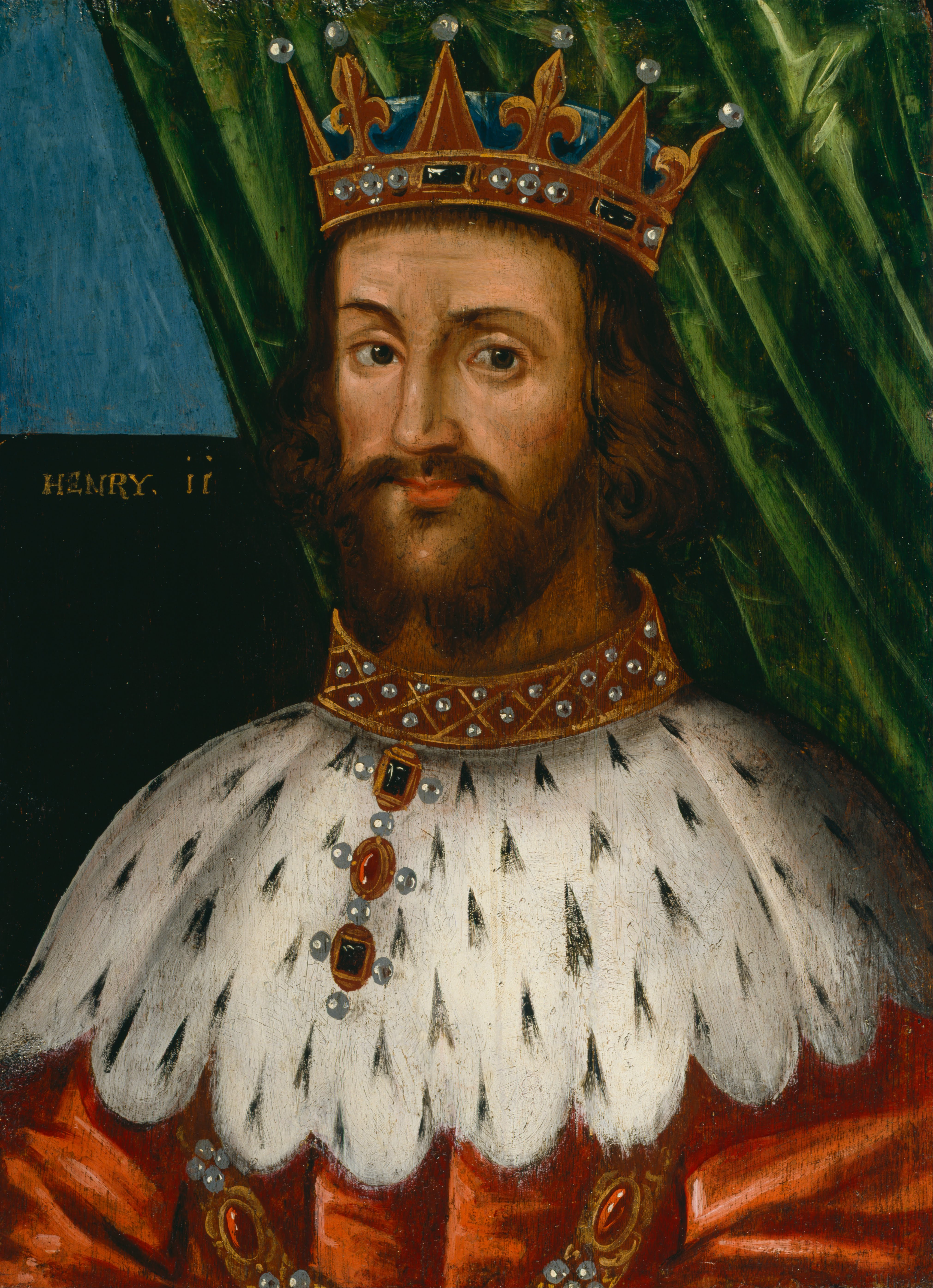 king henry ii Henry ii, king of england, lord of ireland, duke of normandy and aquitaine, count of anjou and maine, was born 5 march 1133 in le mans, france to geoffrey v, count of anjou and maine (1113-1151) and matilda of normandy (1102-1167) and died 6 july 1189 in chinon, france of unspecified causes.