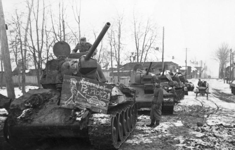 T-34 pressed into service with the Wehrmacht