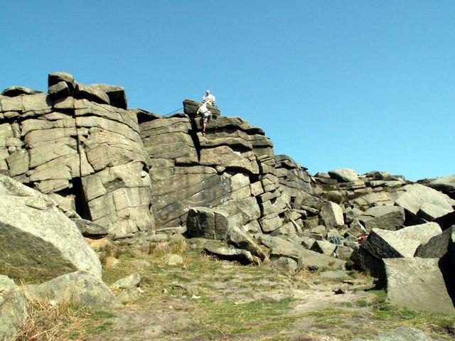 Burbage Rocks North - geograph.org.uk - 419987