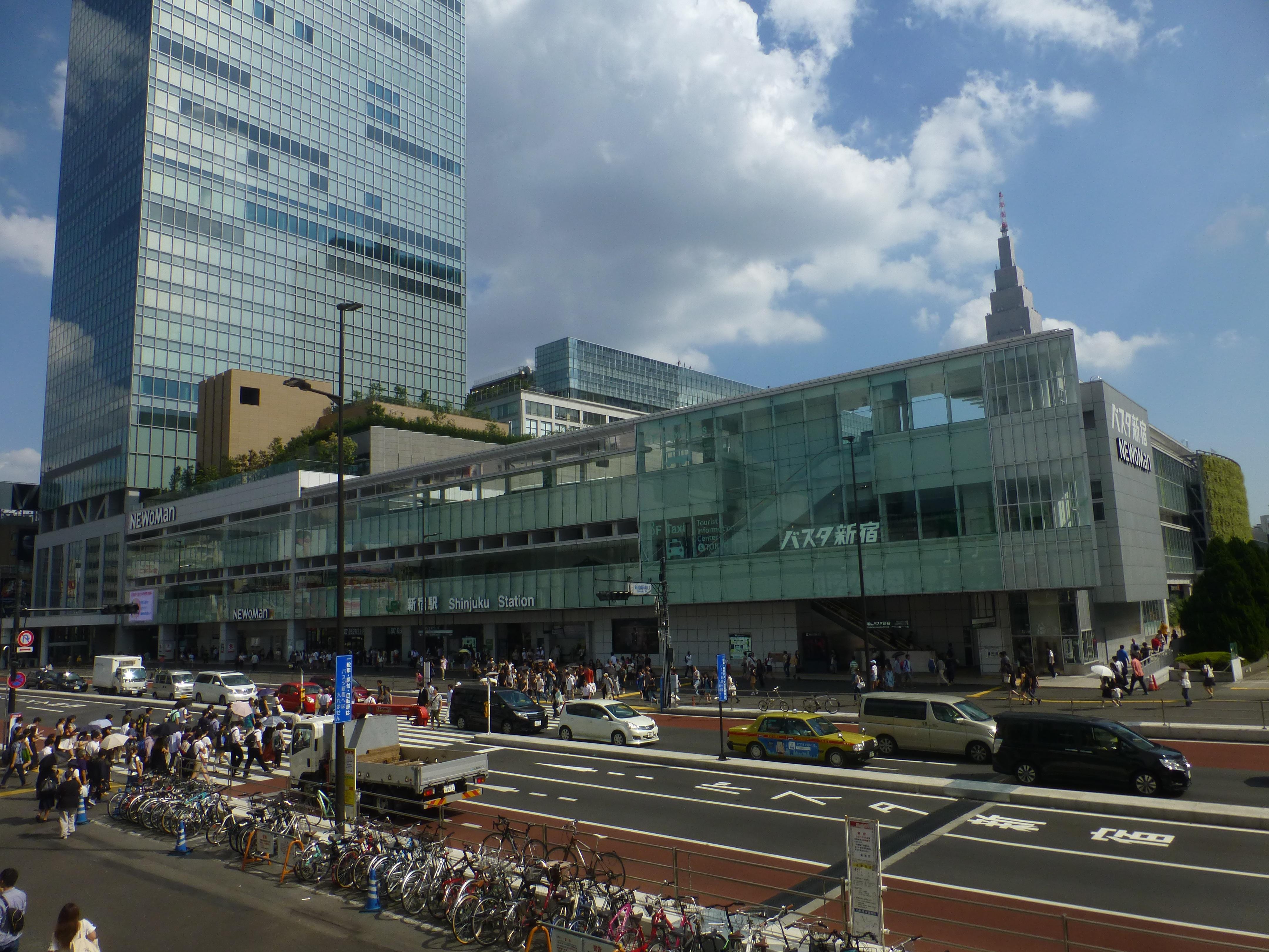 Shinjuku Expressway Bus Terminal - Wikipedia