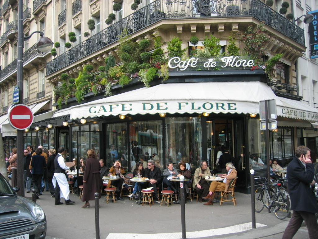 Description café de flore