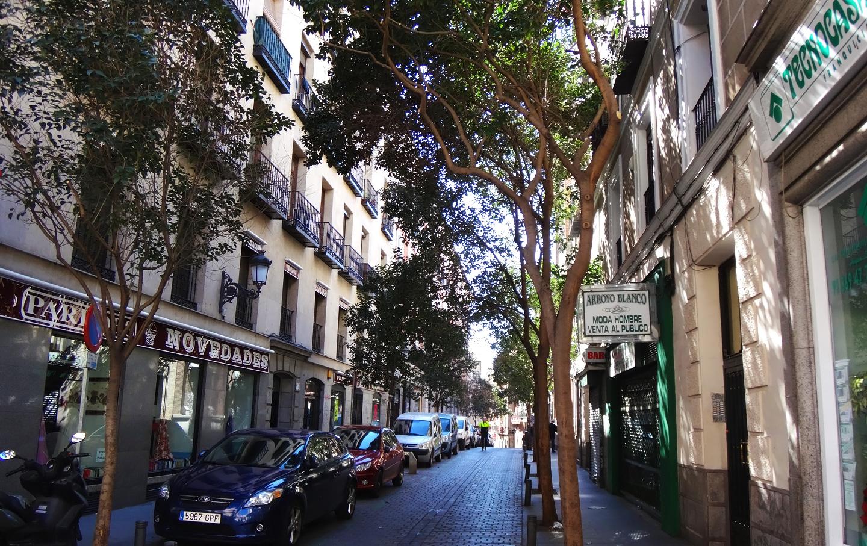 Archivo calle de los ca izares wikipedia la - H m calle orense madrid ...
