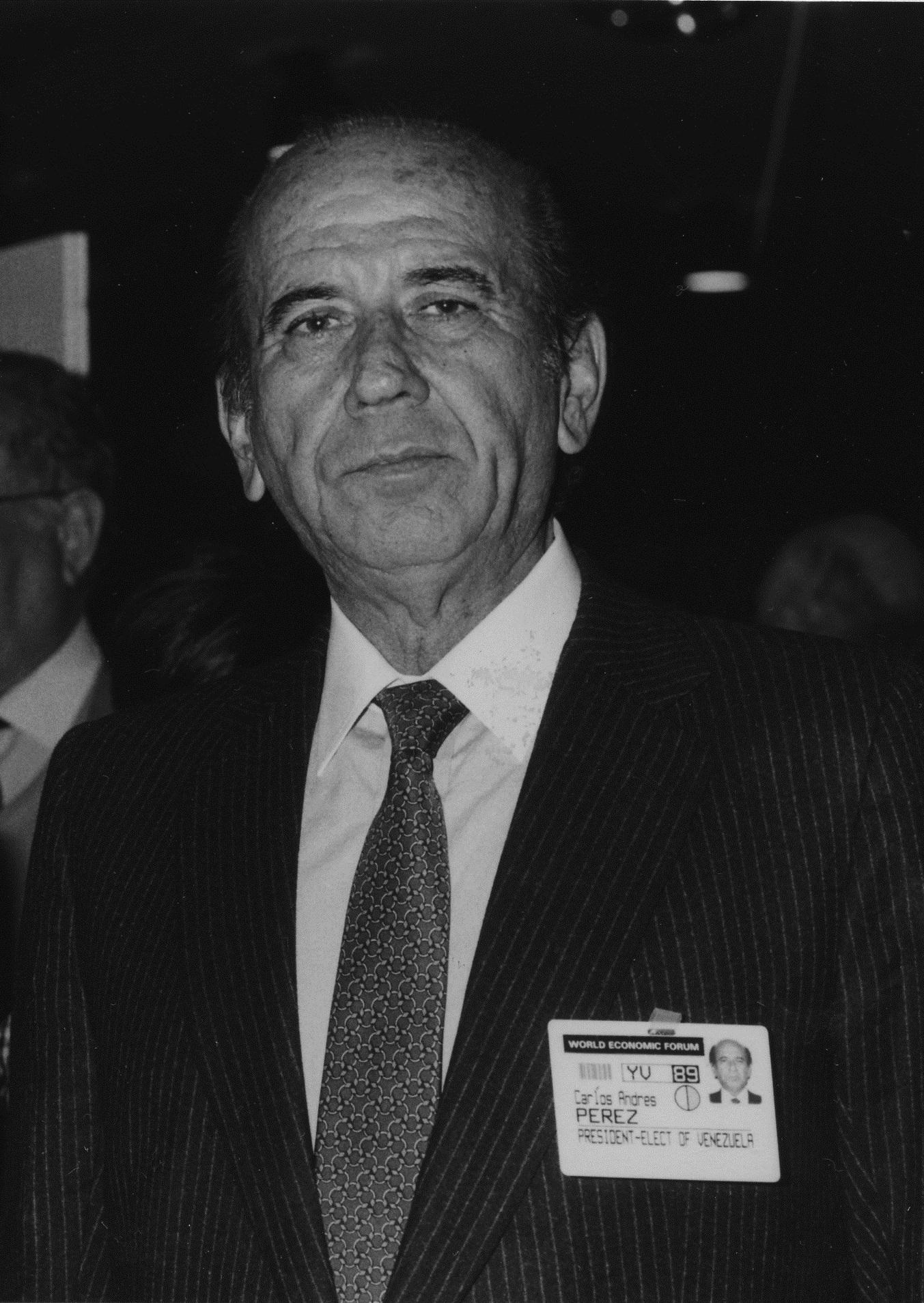 Veja o que saiu no Migalhas sobre Carlos Andrés Pérez