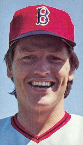"Carlton Fisk, best known for his ""waving fair"" home run in Game 6 of the 1975 World Series Carlton Fisk 1976.jpg"