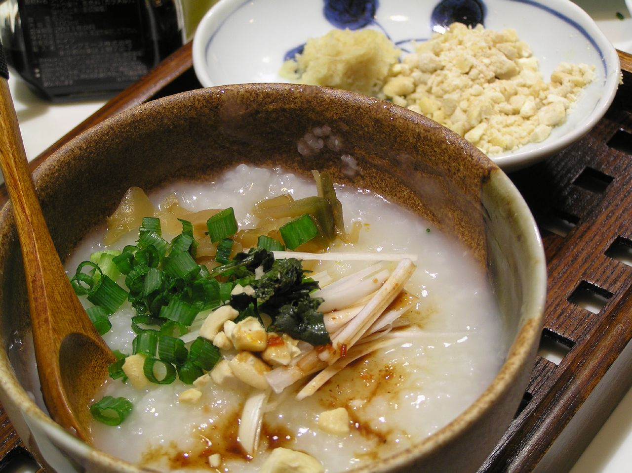 Multi-Grain Congee (Chinese Rice Porridge) Recipe — Dishmaps