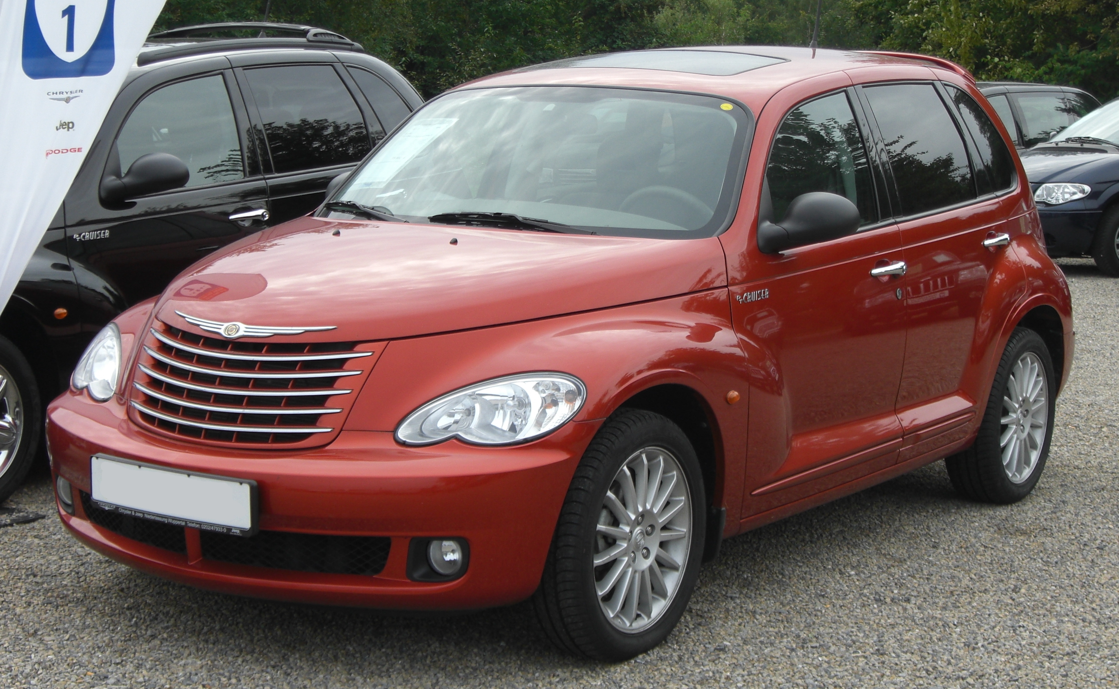 file chrysler pt cruiser 2 2 crd touring facelift front 1 jpg wikimedia commons. Black Bedroom Furniture Sets. Home Design Ideas