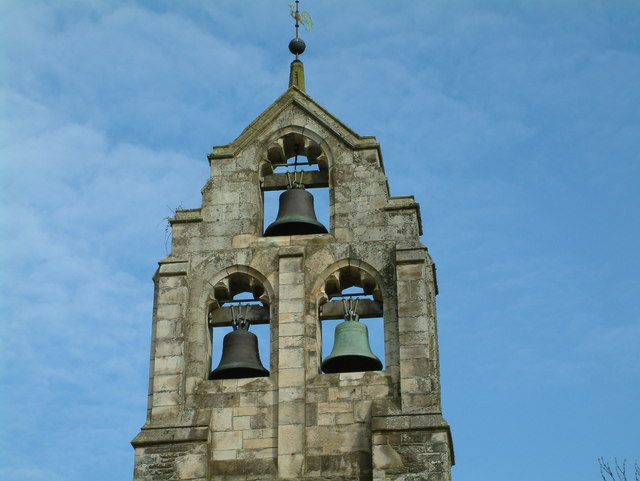 Church Bells at Tresillian - geograph.org.uk - 412267