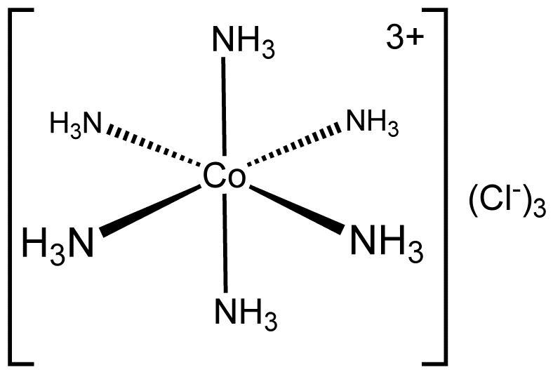 hexamminecobalt iii  chloride