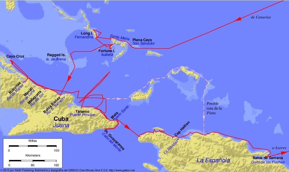 File columbus first voyage wikimedia commons for Cuarto viaje de cristobal colon