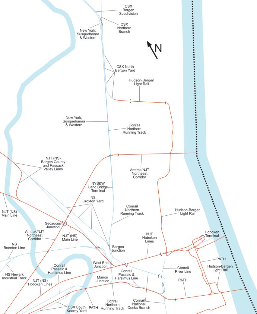 river line  conrail
