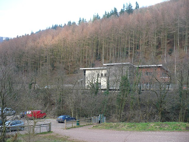 Cwmcarn Forest Drive visitor centre - geograph.org.uk - 686470
