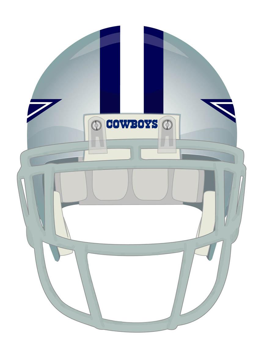 File Dallas Cowboys Helmet Front Jpg Wikimedia Commons