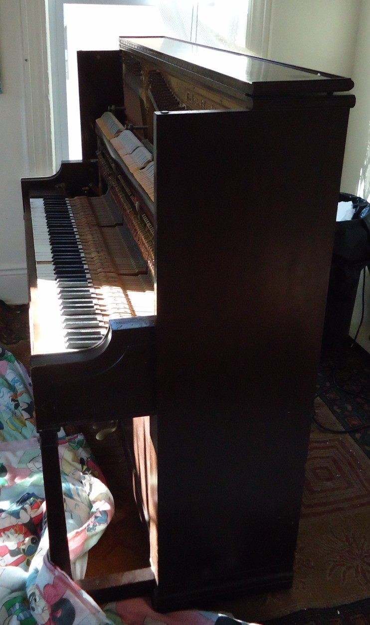 File Demolition Of Upright Knabe Piano In Living Room JPG