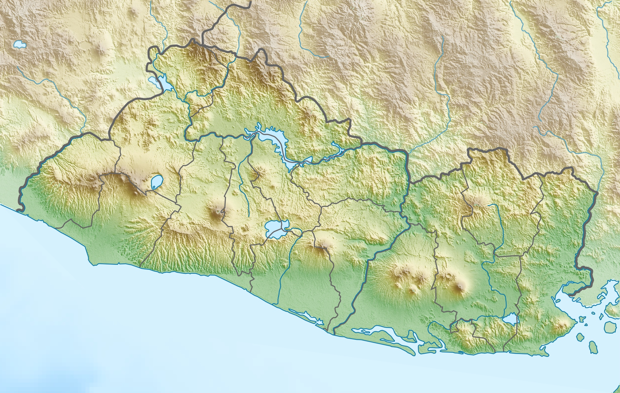 FileEl Salvador relief location mapjpg Wikimedia Commons