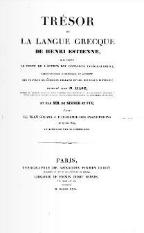 Portrait of Henri Estienne