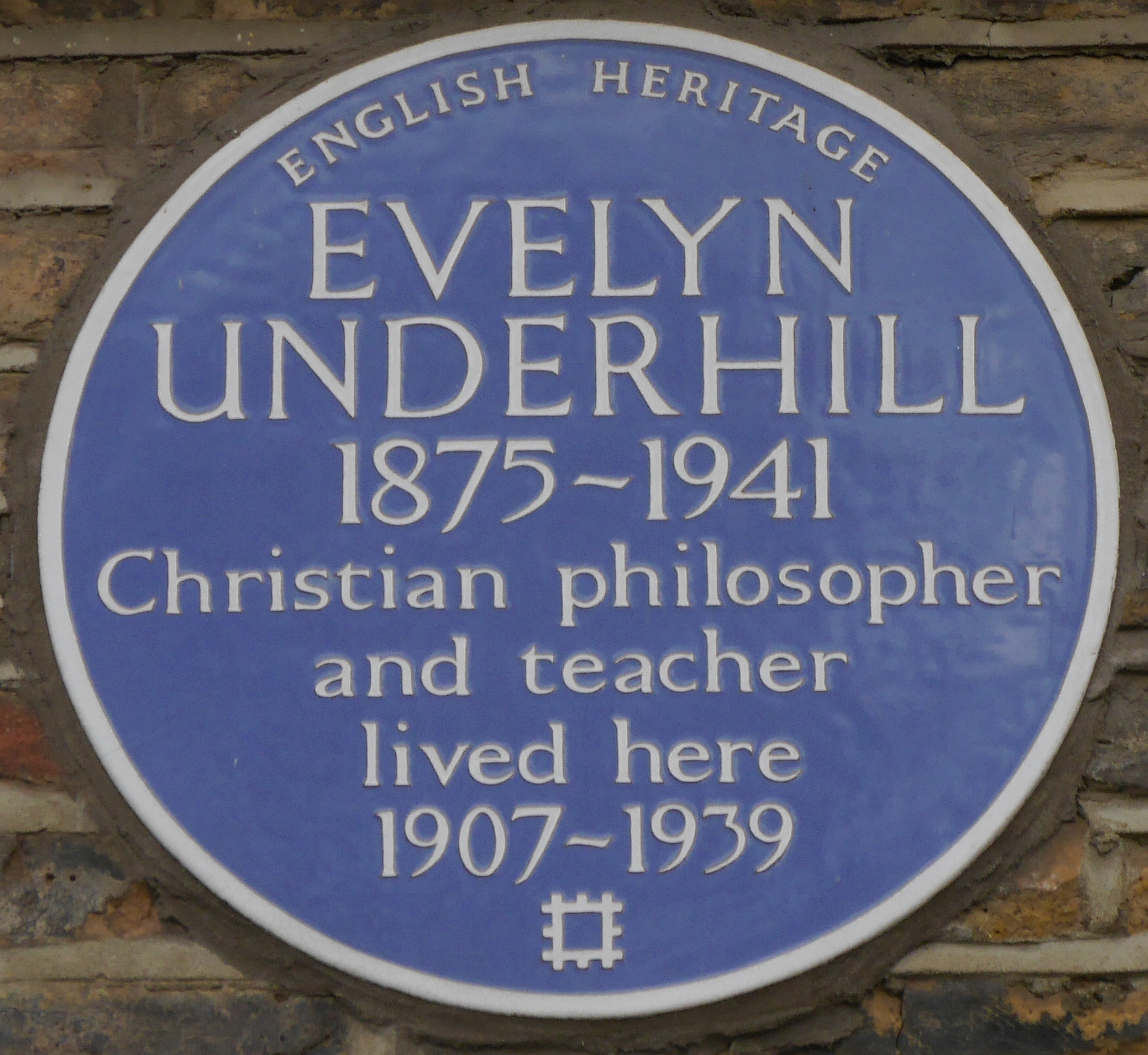 File:Evelyn Underhill 50 Campden Hill Square blue plaque.jpg ...