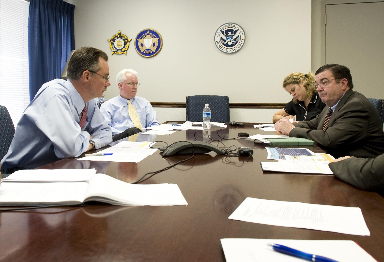File:FEMA - 35759 - FEMA Administrator Paulision, and staff, at ...