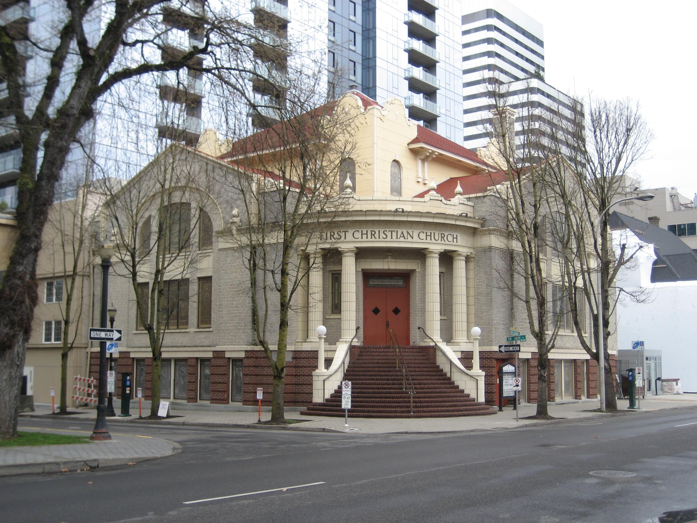 File:First Christian Church - Downtown Portland, Oregon.JPG