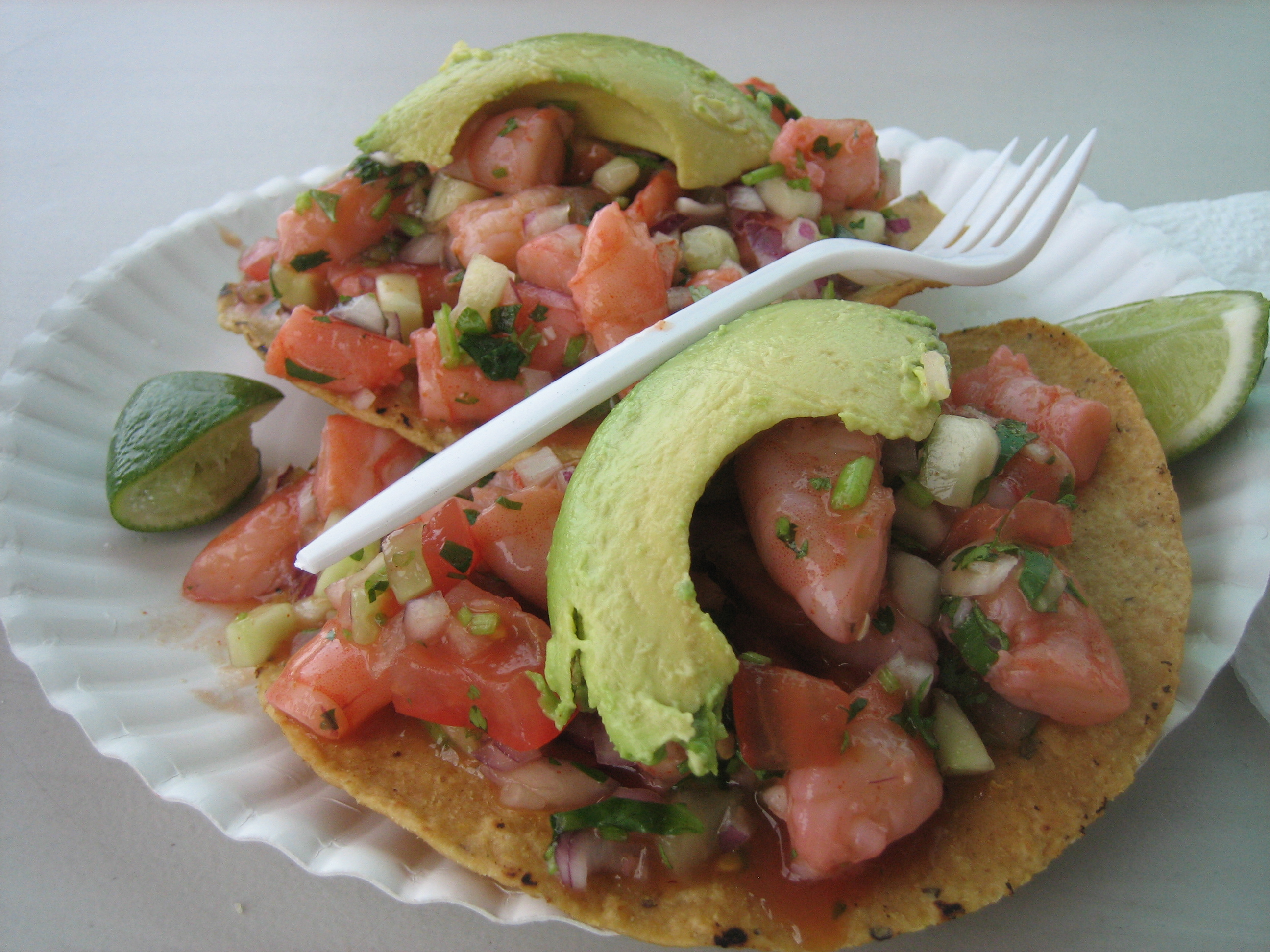 tostadas tostada mexican tostada recipe for mexican shrimp mexican ...