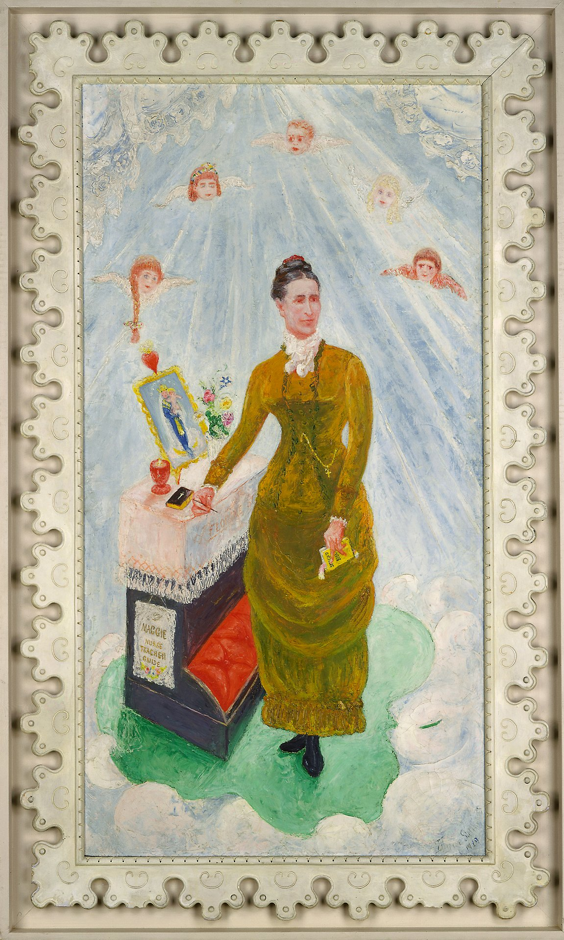 florine stettheimer portrait of our nurse, margaret burgess-ის სურათის შედეგი