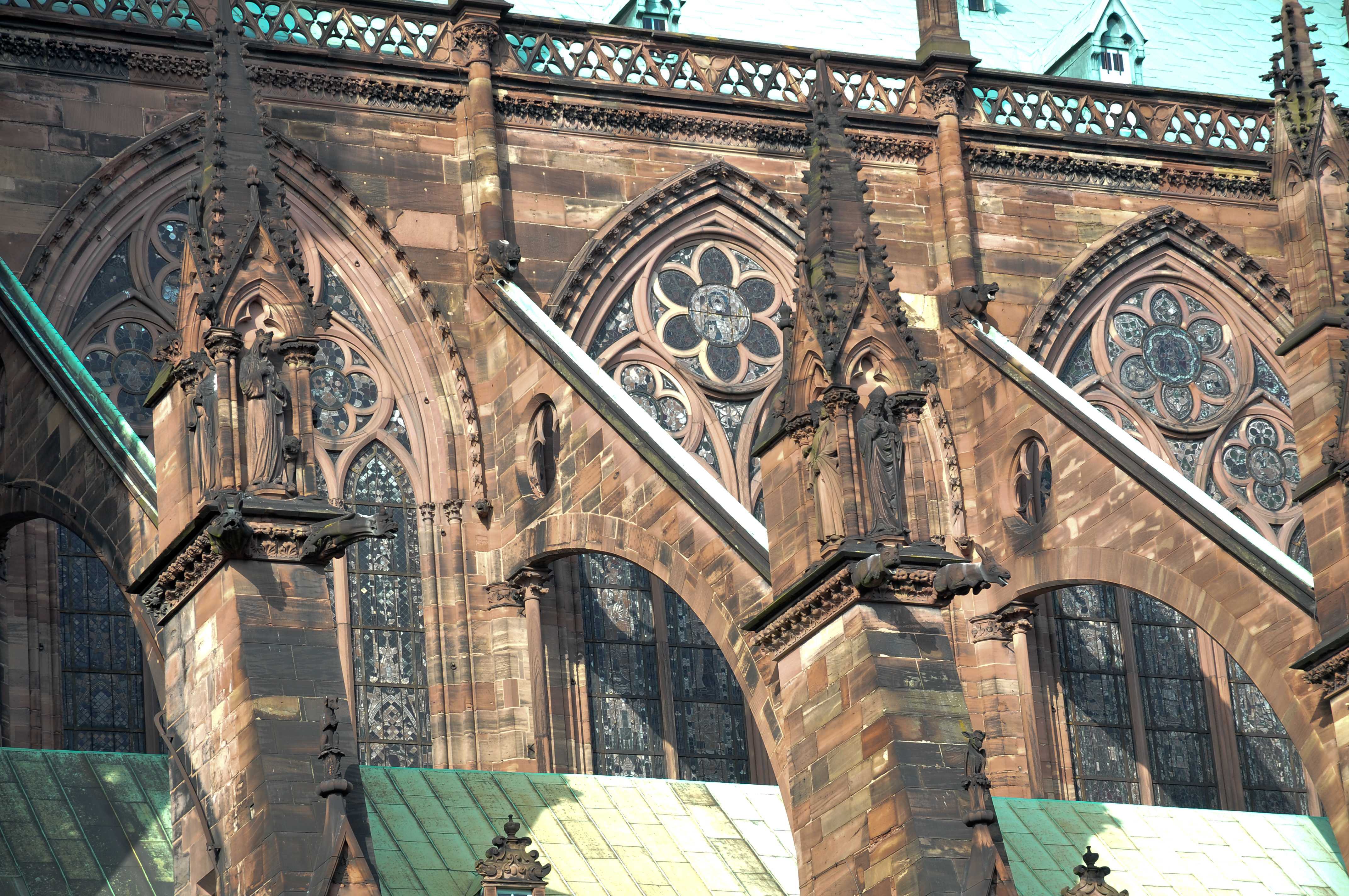 FileFlying Buttresses Of Notre Dame De Strasbourg