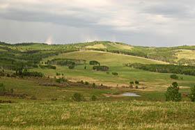 Piedemonte De Las Montanas Rocosas Cerca De Calgary Canada