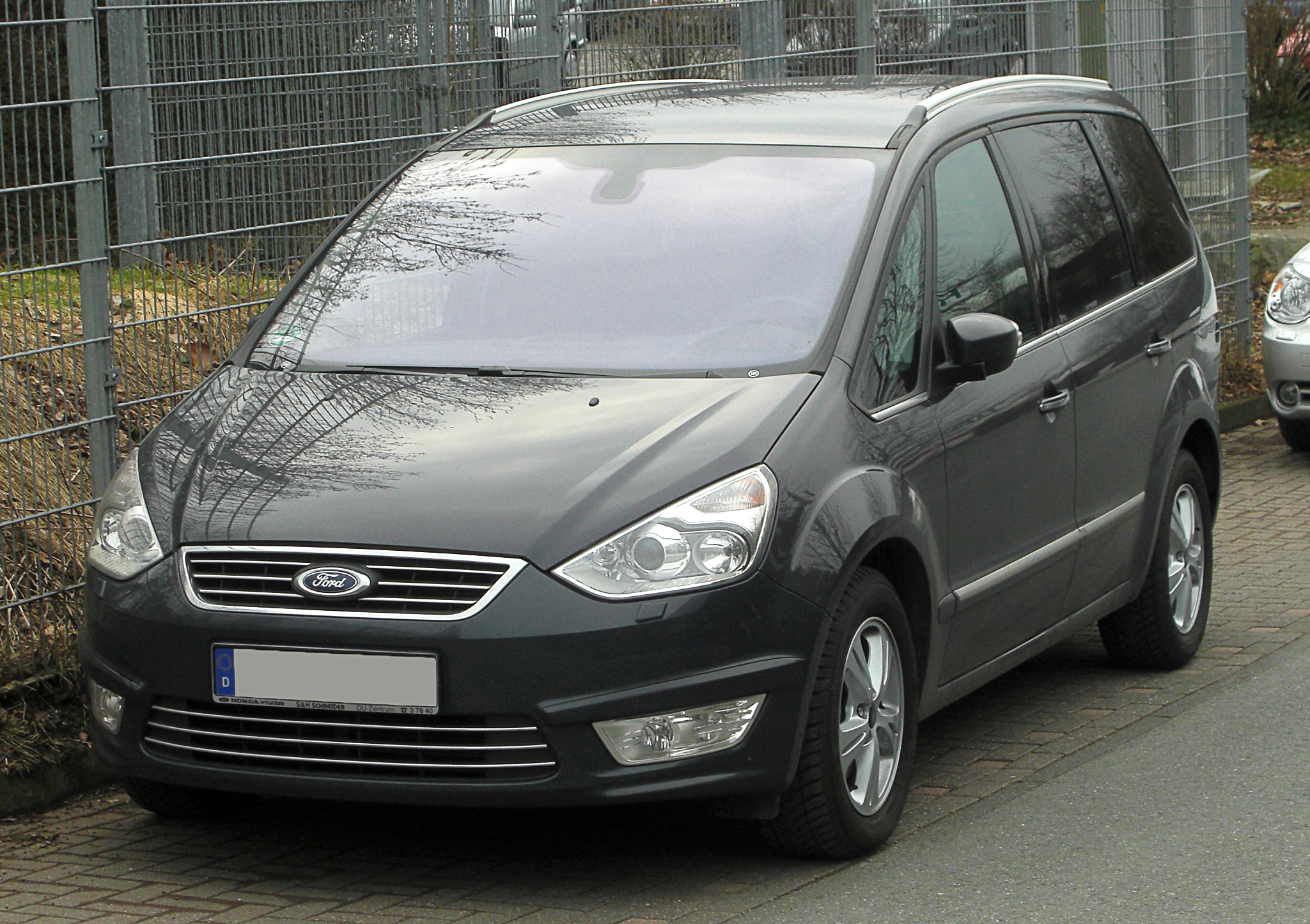 file ford galaxy 2 0 tdci titanium ii facelift frontansicht 20 februar 2011 w. Black Bedroom Furniture Sets. Home Design Ideas