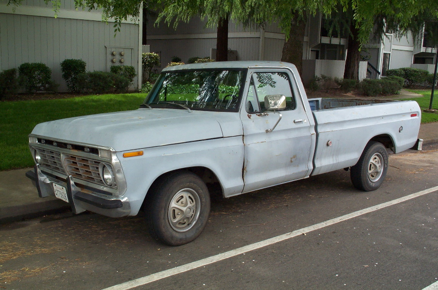 File:Ford pickup side.jpg - Wikimedia Commons