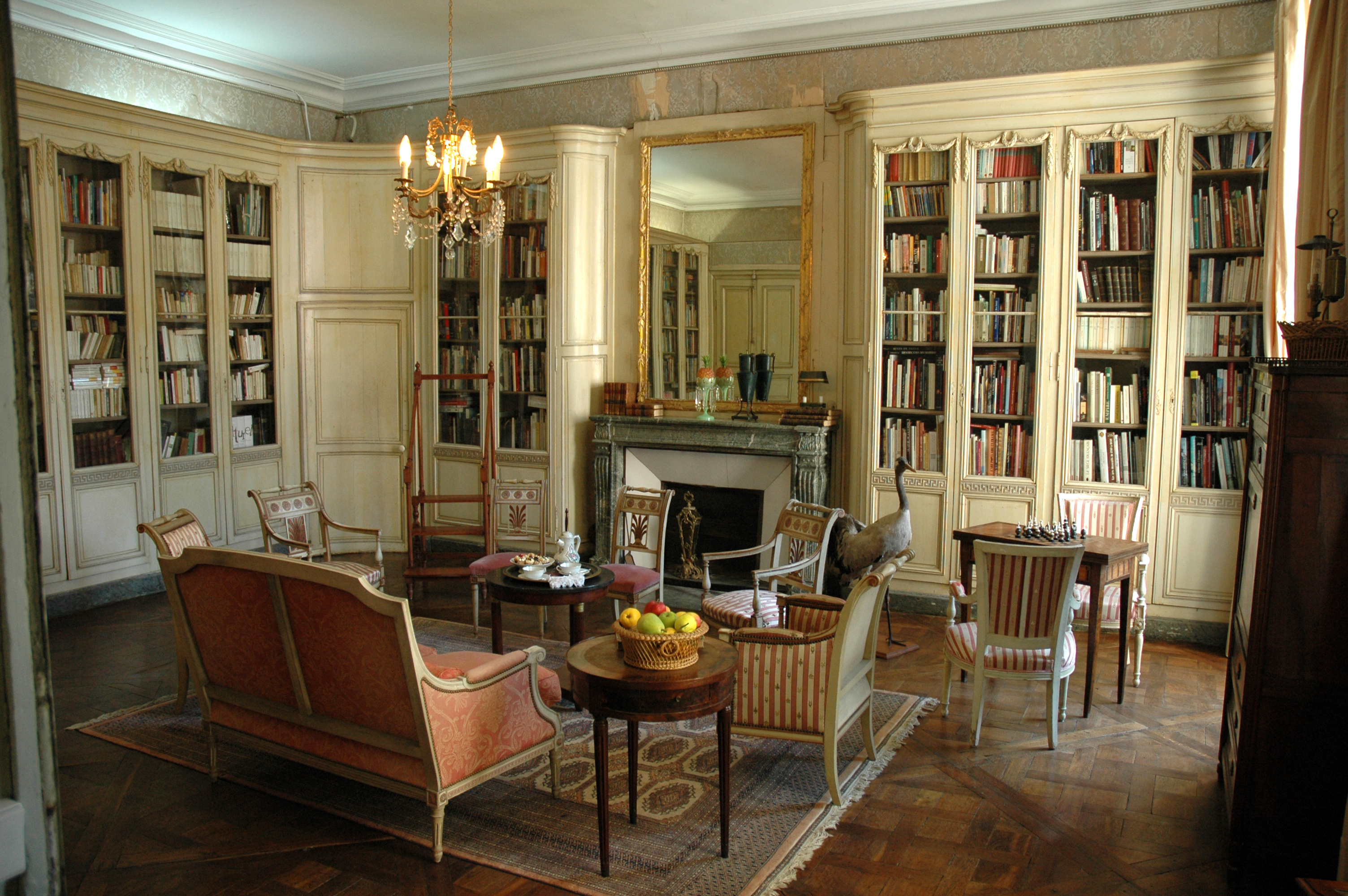 File france centre loiret meung sur loire chateau for Interieur france