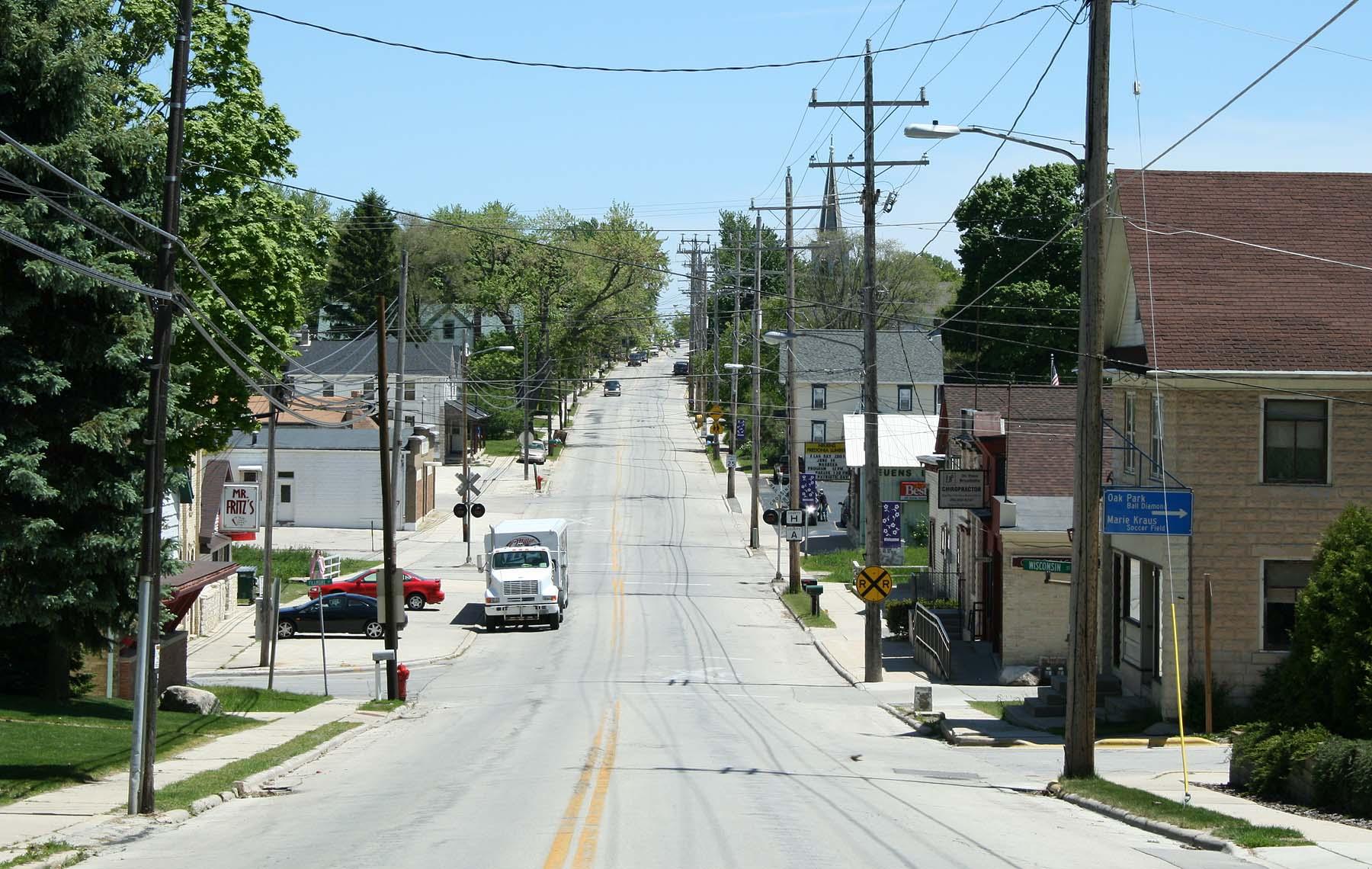 Fredonia, Wisconsinfredonia town