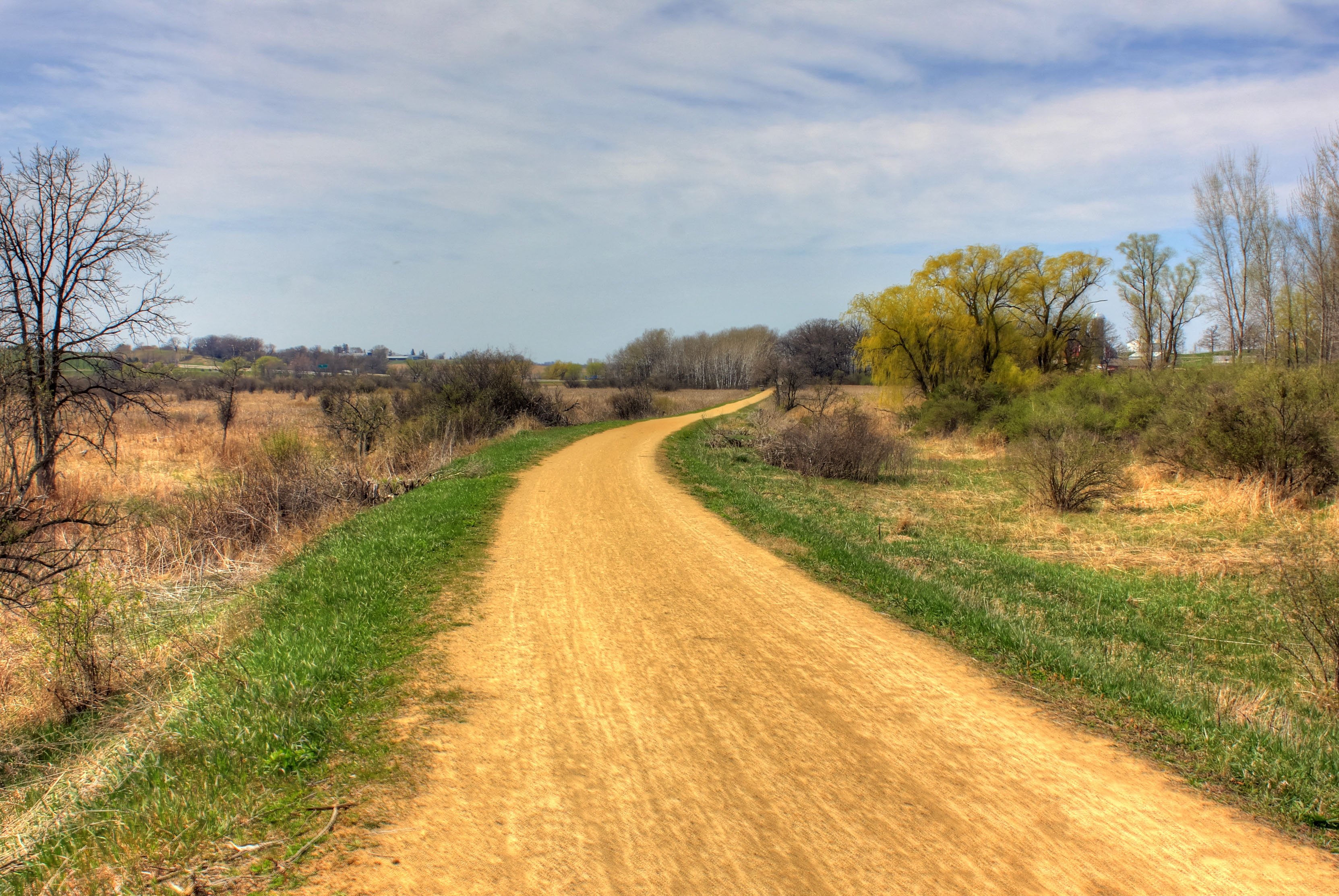 Biking On Military Ridge Trail West Of >> Military Ridge State Trail Wikipedia