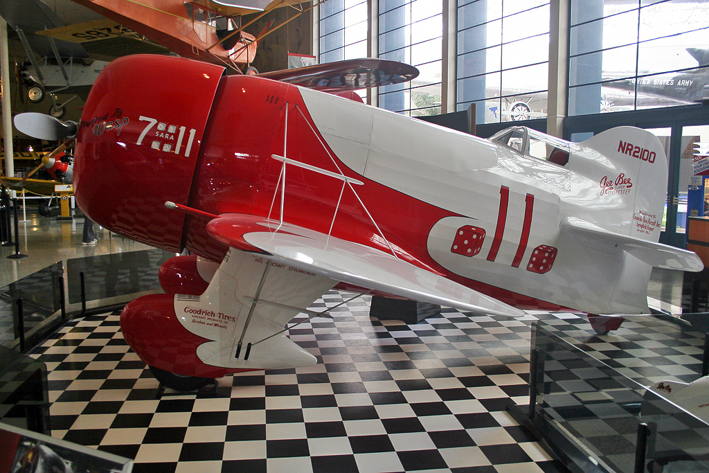 File:Granville Brothers Gee Bee R-1 Super Sportster (Replica