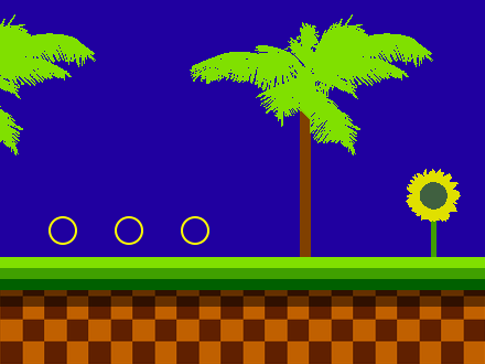 File Green Hill Zone Sonic The Hedgehog Png Wikimedia Commons