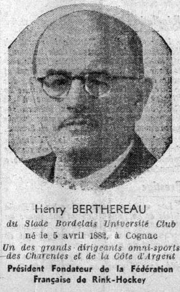 File:Henry Berthereau, Président-fondateur de la Fédération française de Rink Hockey (ici en 1940).jpg