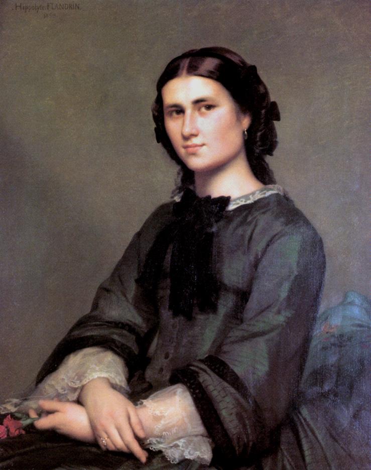 Ипполит Фландрин - мадемуазель.  Матильда Мезон, 1858.jpg