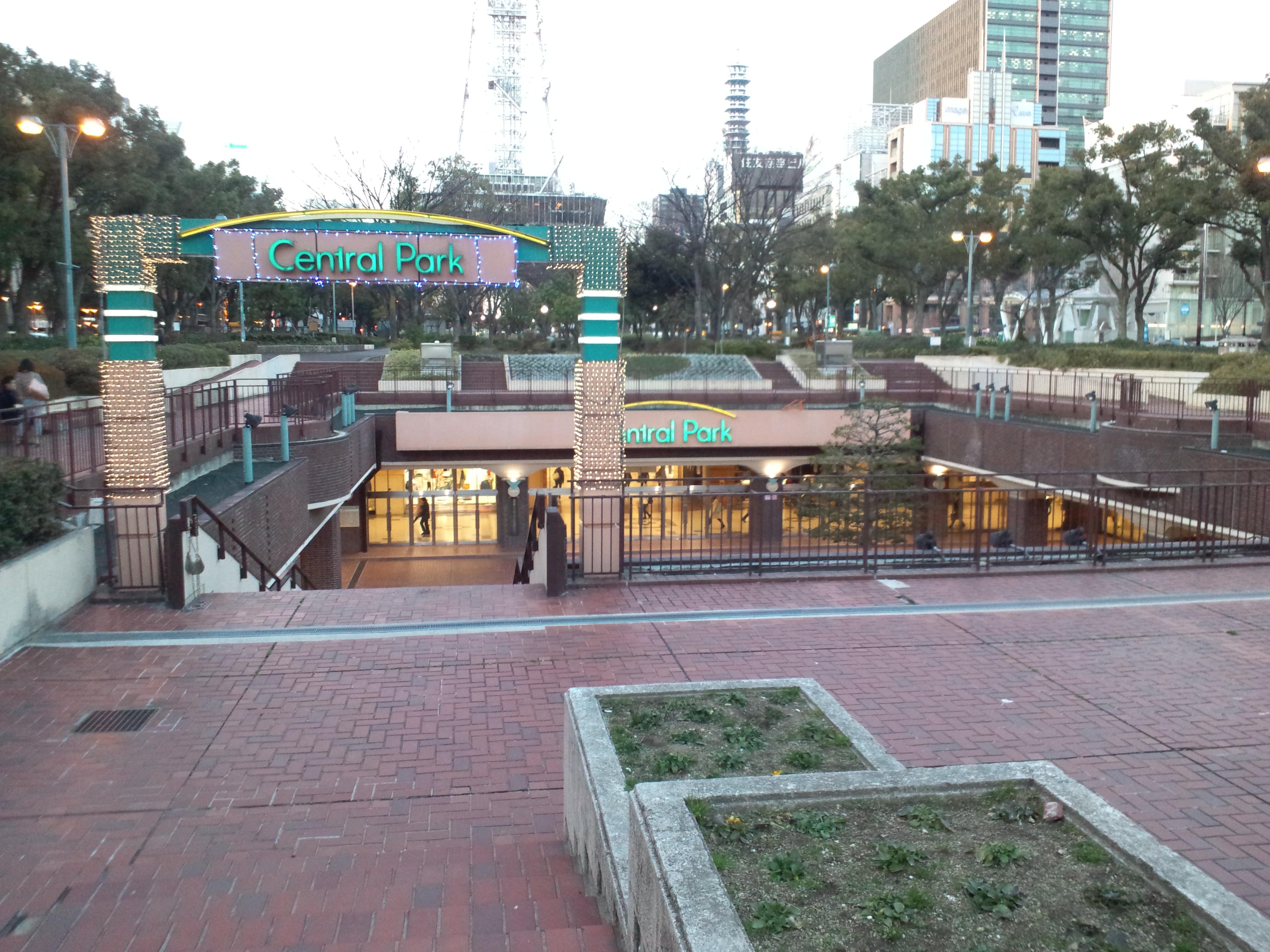 Entrance Central Park Park The Entrance of