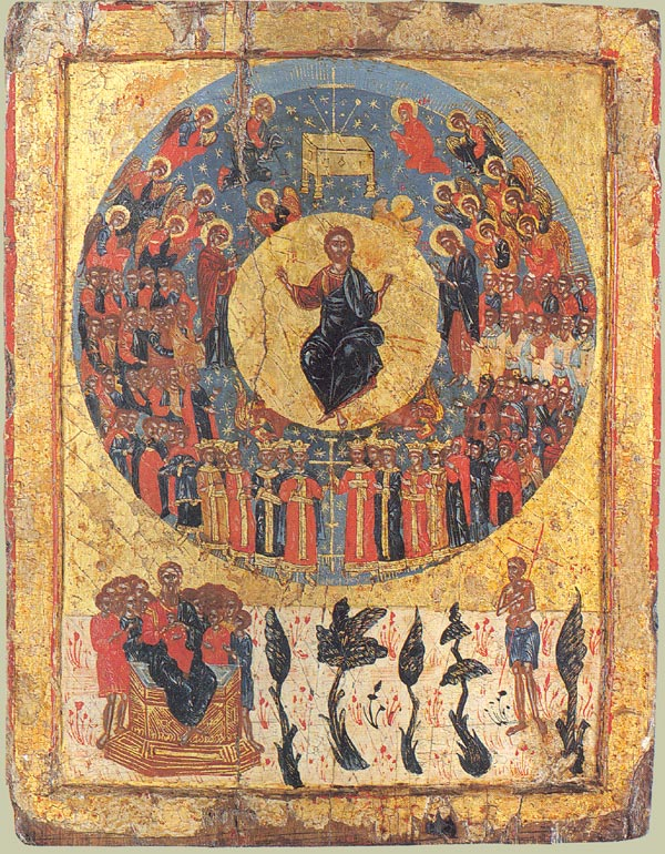 Icon second coming Via Wikimedia commons