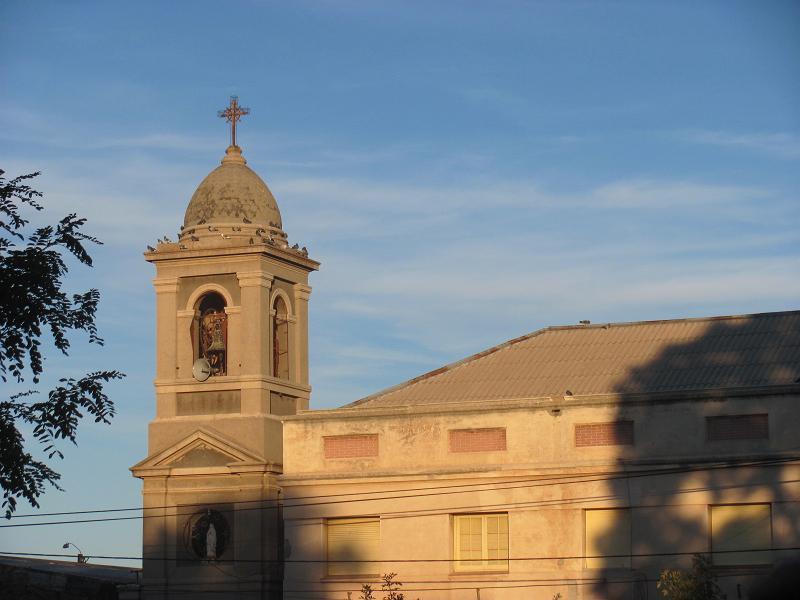Iglesia de Victorica.