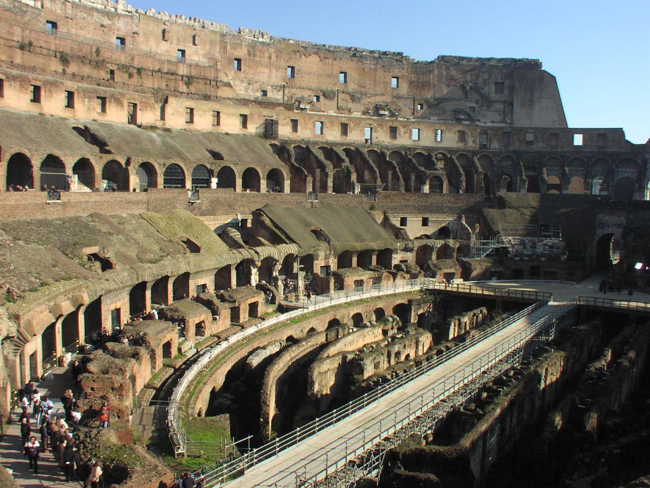 Image Result For Inside Roman Colosseum