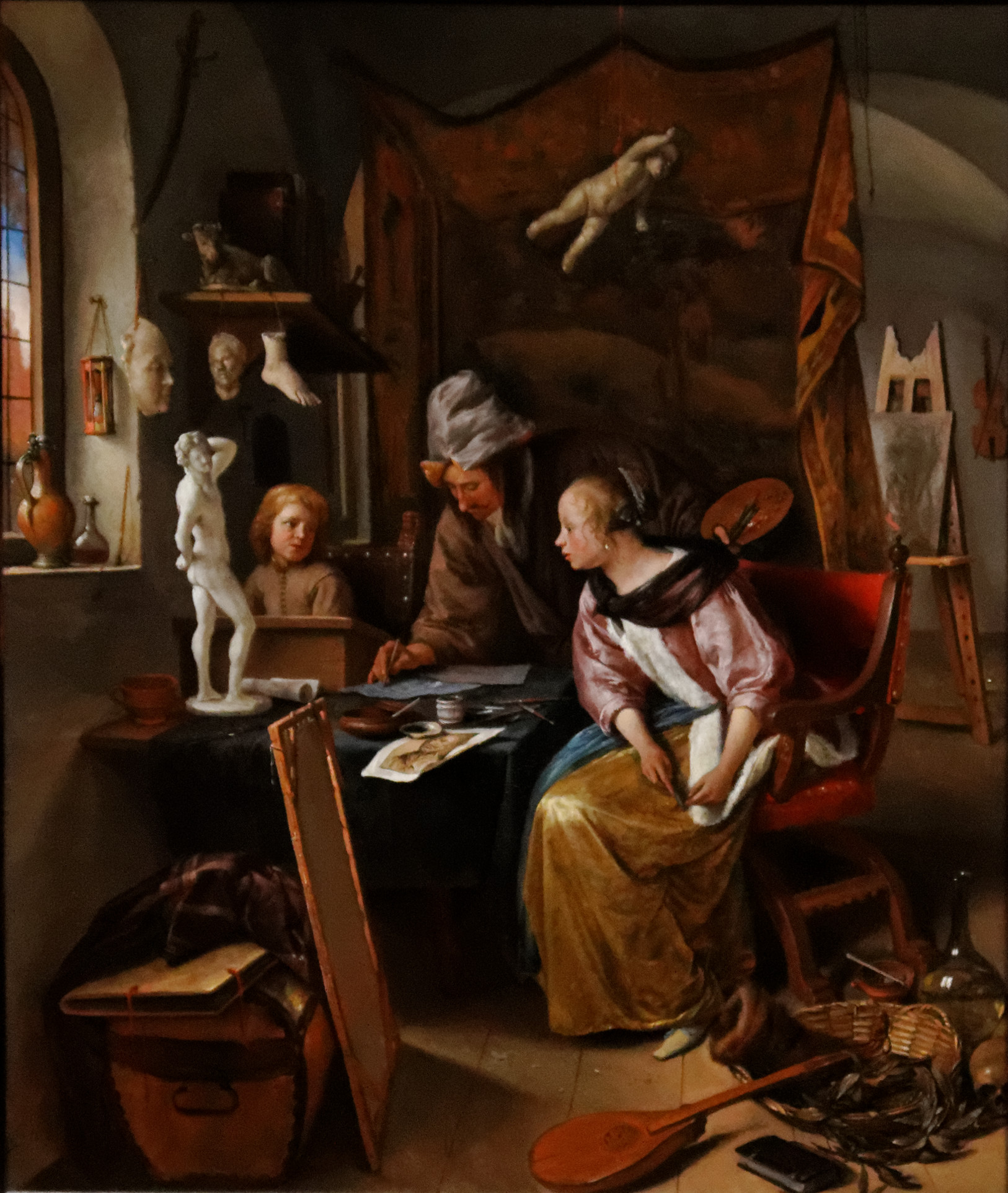 File:Jan Steen - The Drawing Lesson.jpg - Wikimedia Commons