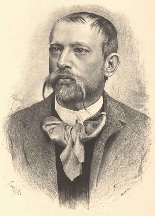 Portrait of Jaroslav Vrchlický by [[Jan Vilímek]]