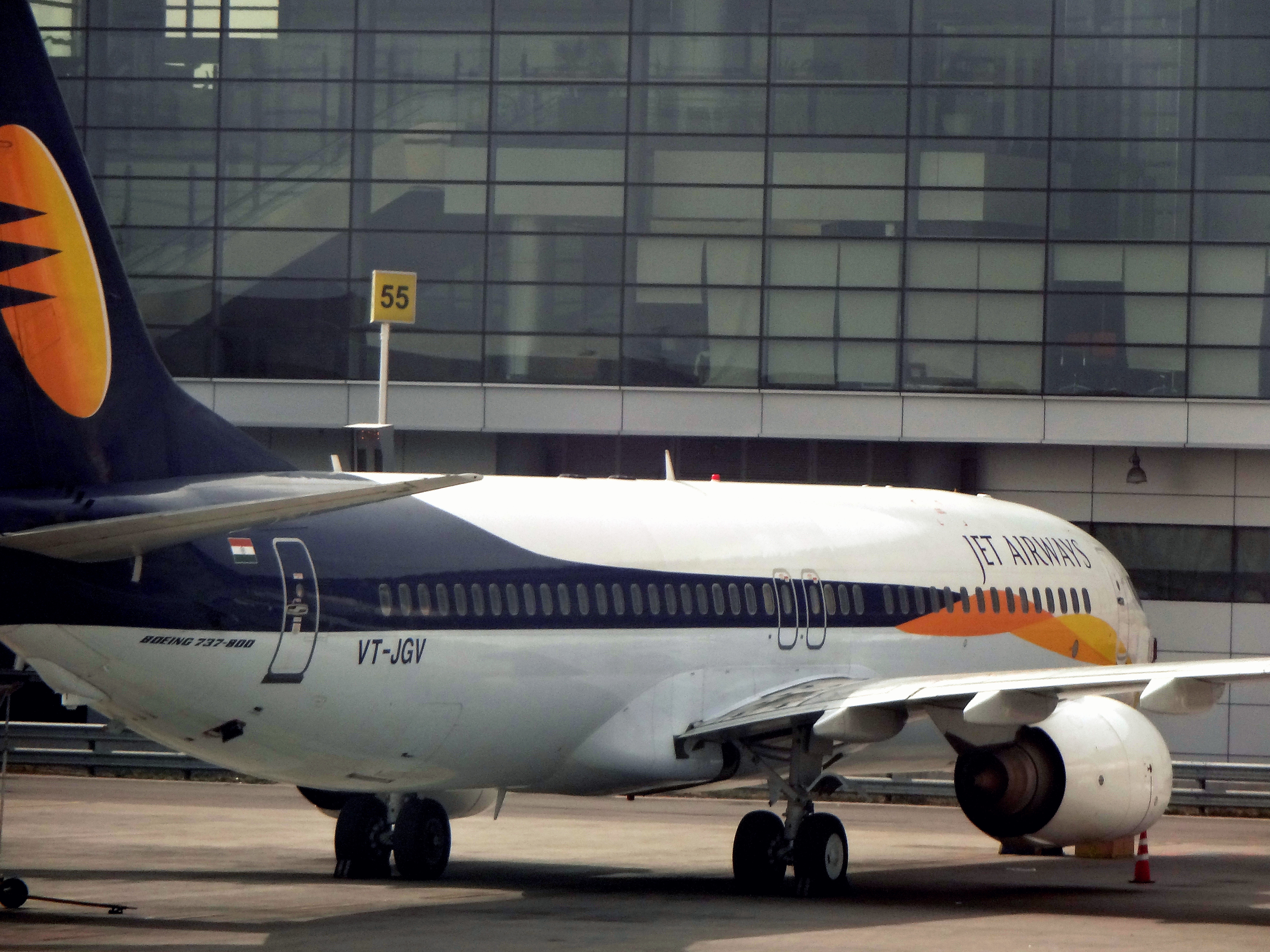 Boeing Jet Jet Airways Boeing 737-800