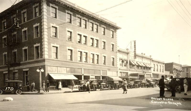 File Julian Hotel Corvallis Oregon 1923 Jpg Wikimedia Commons