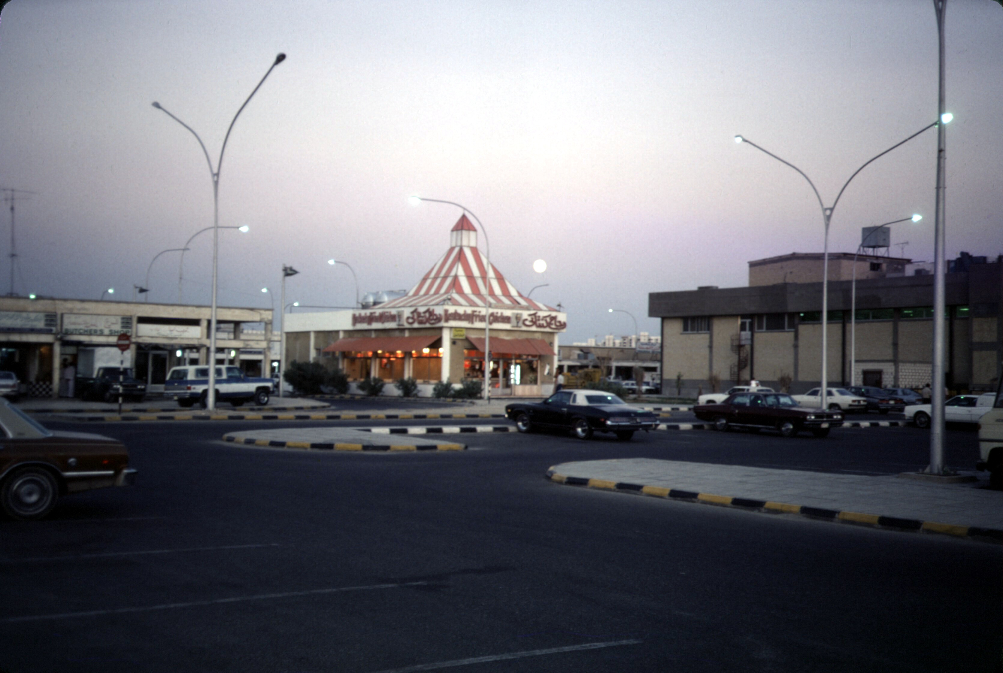 A KFC restaurant in Kuwait City, 1980
