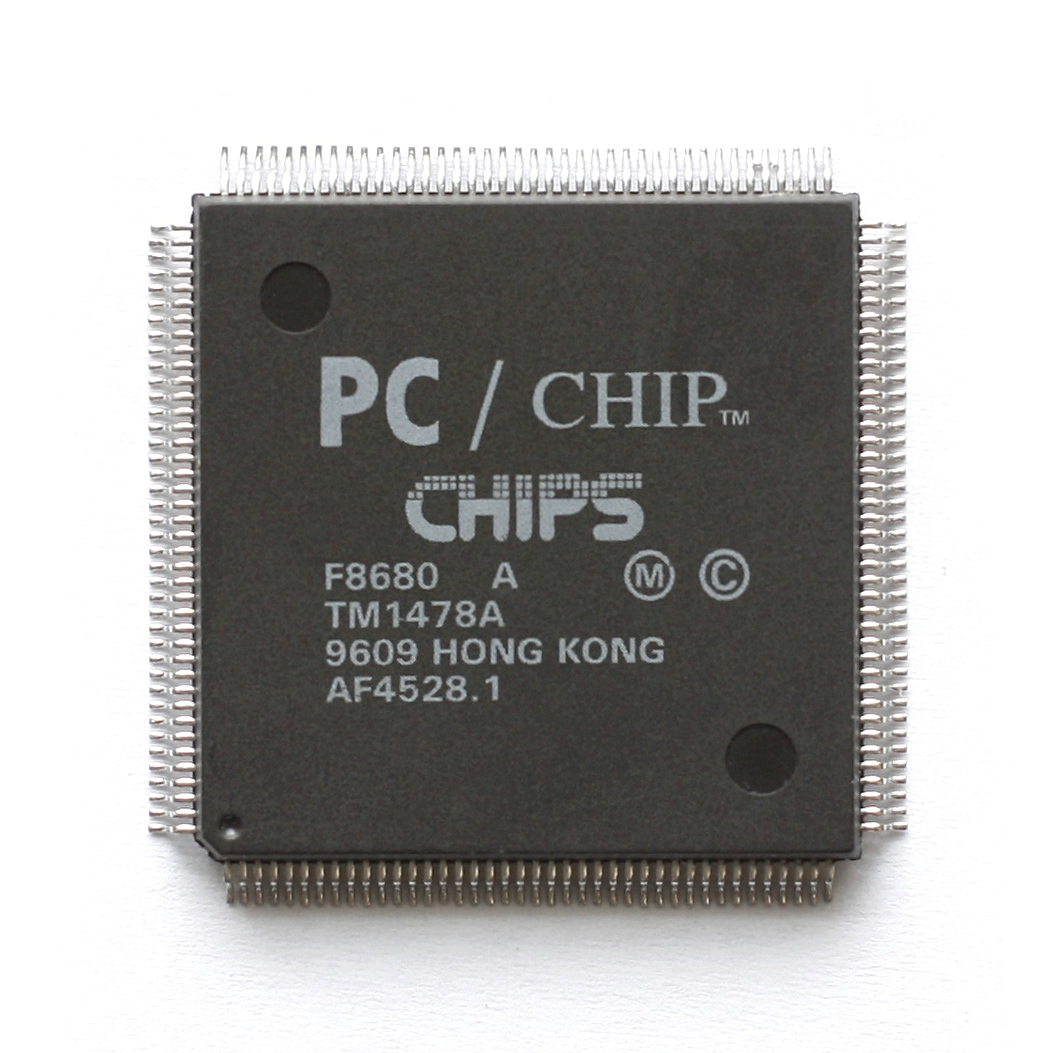 NEW DRIVER: CHIPS AND TECHNOLOGIES 65555