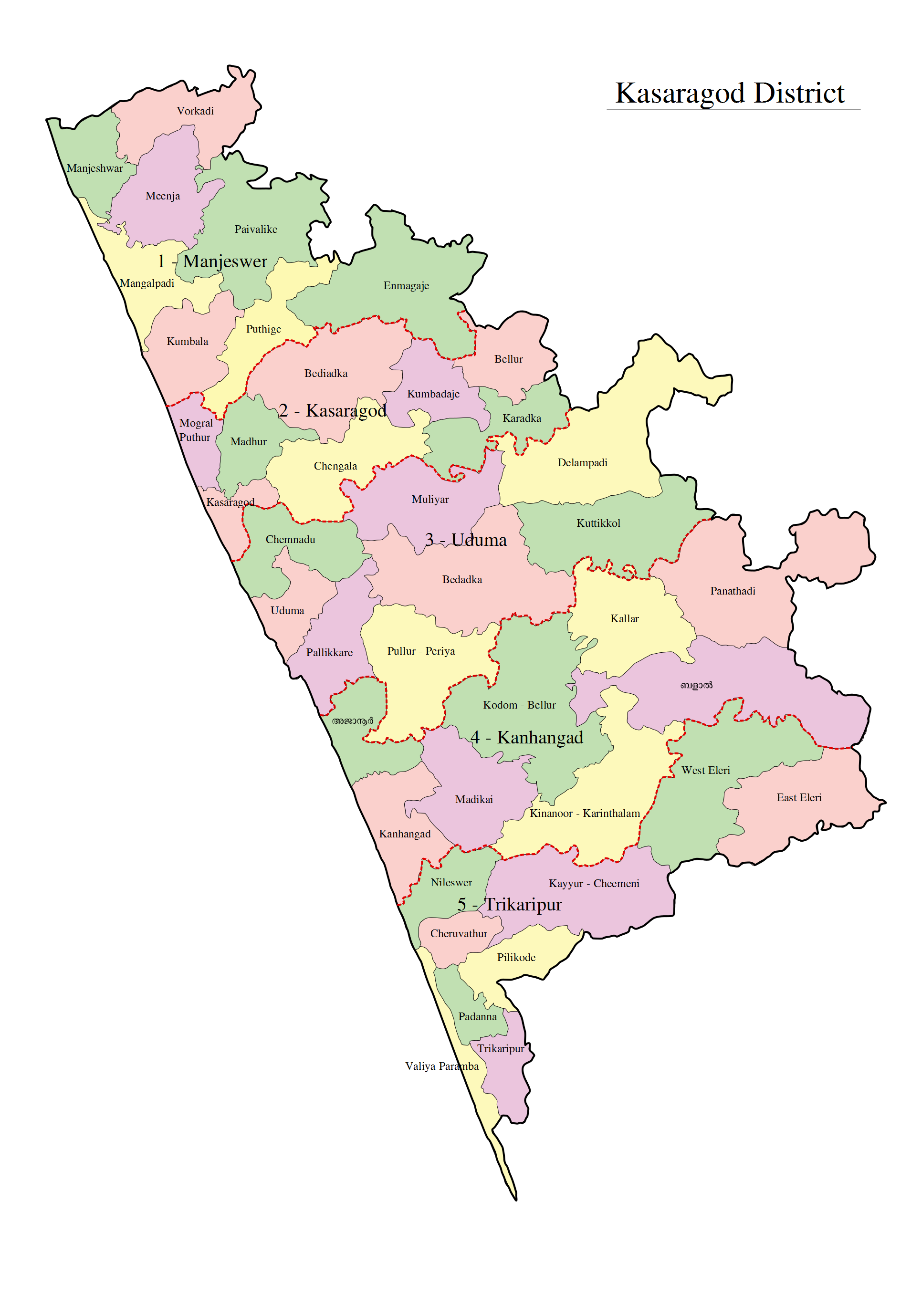 FileKasaragodmapenpng Wikimedia Commons - Kanhangad map
