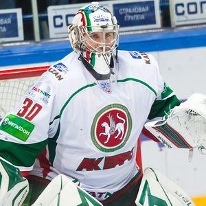 Konstantin Barulin Russian ice hockey goaltender
